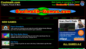 Review Cool Math Games site by Kamaron Inst.